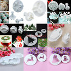 9 sets snowflake&holly fondant cake decorating plunger cutters sugarcraft tools