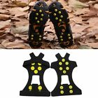 Anti Slip Ice Snow Shoes Crampons Non-slip Shoe Boot Studs Cleats