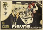AZ38 Vintage Fievre De Louis Delluc Film Movie Advertisement Poster A2/A3/A4