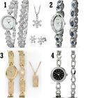 Sekonda The Christmas Set Ladies Watch and Bracelet Silver & Gold Gift Set