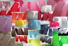 "50 yards Roll Swiss Polka Dot Grosgrain 7/8"" Ribbon R4-Pick Color FREE US SHIP"