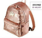 New Fashion Korean Crown Sequins bling SNSD Shoulder Bag Backpack punk school