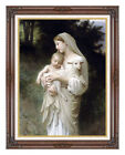 Innocence William Bouguereau Painting Reproduction Framed Canvas Fine Art Print
