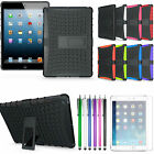 UK Stock New Shock Dirt Proof Rugger Case for Apple iPad 2 3 4 5 Air Mini Retina