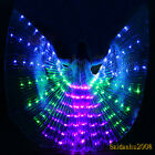 LED Wings belly dance Christmas hafla club light show party isis wings flicker