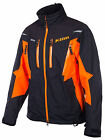 Klim Storm Parka Orange Snow Snowmobile Parka Jacket Men's MD-3XL