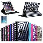 360 Rotating PU Leather Ultra Slim Case Cover Stand for Apple iPad Air 2 (2014)