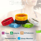 New Smart Watch Pedometer Sleep Monitor Step Walking Distance Calorie Counter