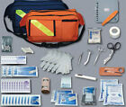 EMT EMS FIRST AID KIT FIRST RESPONDER KIT TRAUMA FANNY PACK MEDICAL TECHNICIAN