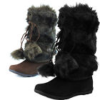 Woman Mid High Comfortable Cowboy Leg Warmer Pom Pom Slouchy Boot Winter Booties