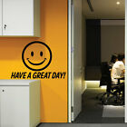Have a Great Day Wall Stickers Quotes Wall Decals Words Letterings