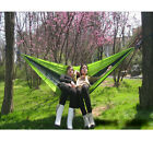New Useful Parachute Nylon Fabric Hammock for two persons Travel Camping Hammock