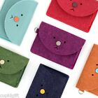 Toffeenut Felt Card Case Strap Necklace Holder Wallet Coin Card ID Cute Kawaii