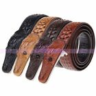 Durable Business Leather Mens Crocodile Stylish Sild Buckle Strap Belt Waistband