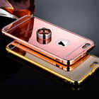 Luxury Aluminum Ultra-thin Metal Mirror Back Case Cover for Apple iPhone 6 Plus