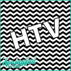CHEVRON STRIPES PATTERN Black & White HTV Pattern #1 Chevron Heat Transfer Vinyl
