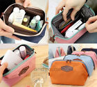 Multifunction Beauty Travel Cosmetic Bag Makeup Pouch Toiletry Zipper Organizer