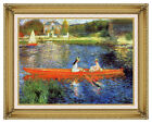 Framed Giclee Art Print The Skiff by Pierre Auguste Renoir Painting Reproduction