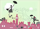 Poster / Leinwandbild Mary Poppins London - Elisandra