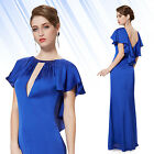 Ever Pretty Elegant Womens  Blue Long Evening PromParty Dress 08263 Size 06-18
