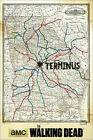 Poster The Walking Dead - Terminus Karte