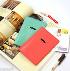 Bonjour Passport Case Cover Ticket Card Holder Travel Mini Wallet Cute Pouch