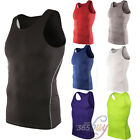 Men's Sports Compression Tight Under Base Layer Shirt T-Shirts Tees Tops Singlet