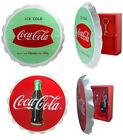 Coca Cola/Coke: Retro Vintage Style Wooden Key Cupboard Box - 2 Official Designs