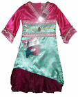 Girls Mulan Oriental Themed Dressing Up Outfit 3-5Y 5-8Y 8-11Y Vibrant Colours