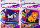 NEW Cross Stitch Embroidery Sewing Art Set Childrens Kids Craft Kit