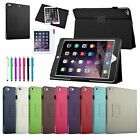 For Apple iPad Air 2 2014 6th GEN Slim Folio Flip PU Leather Case Stand Cover