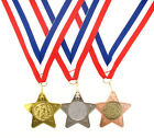 45mm Metal Athletics Star Medal-Gold, Silver or Bronze-FREE POSTAGE-FREE ENGRAV