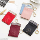 Slim Pocket Neck Card Holder Strap Business ID Luggage Key Chain Cute Card Case