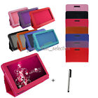 PU Leather Stand Android PC Tablet Case Cover for 7 7.85'' 8'' 9'' 9.7'' 10.1''
