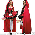 K41 Little Red Riding Hood Oktoberfest Halloween Fancy Dress Fairy Tales Costume