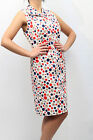 ABITO CLIPS MORE DONNA DRESS WOMAN ROBE ПЛАТЬЕ, P032 2924 POIS  PP
