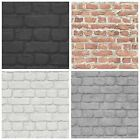 10M RASCH TEXTURED WALLPAPER BRICK EFFECT LUXURY STONE FEATURE WALL NEW