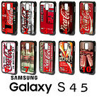 Coca Cola Samsung Galaxy S4 S5 PLASTIC Phone Case Cover Vending Machine Love