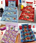 DISNEY MARVEL MIKROFASER BETTWÄSCHE 135x200cm PLANES CARS FAIRIES SPIDER-MAN RV