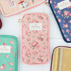 Blooming Multi Pouch Pencase Cosmetic Makeup Holder Storage Organizer Cute Bag