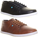 Boxfresh Sparko 4 Mens Leather Lace Up Shoes Trainers Size