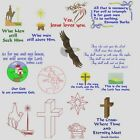 Faith Collection Machine Embroidery Designs 8 sets 300 designsAnemone Embroidery