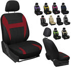 6PC Mesh Front Car Seat Headrest Cover Set Bucket Chair 11 Styles $14.99 USD on eBay