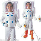 CK325 Child Astronaut Boys Deluxe Space Man Fancy Dress Kids NASA Costume Outfit