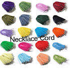 10pcs Wholesale Lots Fashion Multicolor SILK RIBBON CORD NECKLACES 25 Styles New
