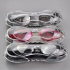 Prescription Mirror PC UV RX Lenses Anti-Fog Swimming Goggles -1.0 -1.5 -2.0