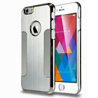 Luxury Metal Brushed Aluminum Hard Back Case Cover For iPhone 6 4.7 / 6 Plus 5.5