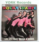 """ROCKY SHARPE & THE REPLAYS - Love Will Make You Fail In School - Ex 7"""" Single"""