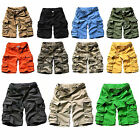 New Outdoor Men's Multi-pocket Camouflage Cargo Shorts Casual Beach Shorts Pants