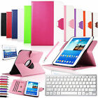 Bluetooth Keyboard Leather Stand Case Cover For Samsung Galaxy Tab 3 10.1 P5200